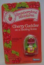 Strawberry Shortcake Miniature Cherry Cuddler Rocking Horse Kenner Vintage NOS