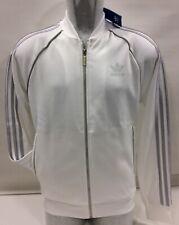Adidas Mens Tracksuit Jogging Track Tops Jacket, Large