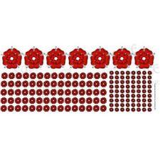 Ginfritter's Gnomish Workshop Warflu009 Red Rosette Decals + Warhammer Sisters