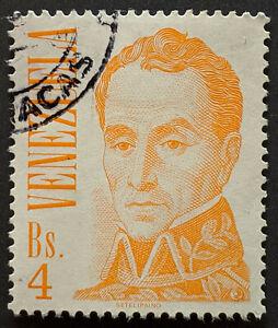 Stamp Venezuela SG2325 1976 4B Simon Bolivar Used
