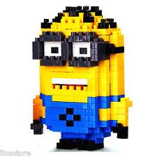 Nano Block Building Blocks Sets Mini Blocks Toys Gift Series- Minion Jerry