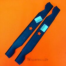 Messer 2 Stk für Rasentraktor 96cm Husqvarna, Partner