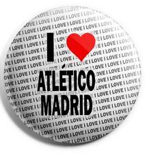 I Love Athletico Madrid Badge Magnet Back - Gift - Birthday - Stocking Filler