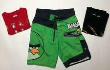 NEW ANGRY BIRDS Hooded Hoodie Fleece Sweatshirt Youth Boys S Small 8 NEW NIP