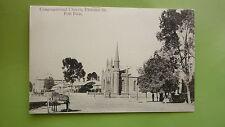 Early 1900s South Australian Postcard, Port Pirie Congregational Church