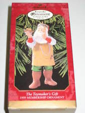 Hallmark 1999 Collector Club Christmas Ornament Toymakers Gift