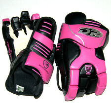 "Brand new pair DR HG700 Model ice hockey gloves pink 14"" inch Sr glove senior Sz"