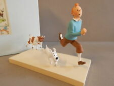 Extremely Rare! Tintin with Snowy Running From Goat LE of 500 Figurine Statue