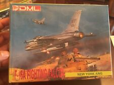 DML F-16A Fighting Falcon New York ANG 1:144 #9905 Model