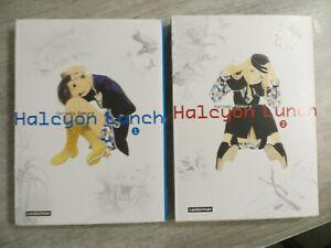 manga halcyon lunch 1 et 2,casterman,occasion