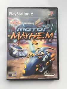 Motor Mayhem Sony Playstation 2 PS2 Racing Game Manual Included FREE POSTAGE