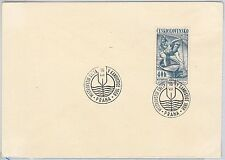Sport CANOEING - POSTAL HISTORY - Czechoslovakia: SPECIAL POSTMARK on COVER 1958