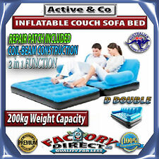 New! Inflatable Multi Functional Airbed Chair Sofa Couch TV Camping Mattress