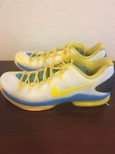 Nike KD V 5 Elite Playoffs Home Mens 10 585386-100 Kevin Durant Basketball Shoes