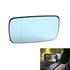Durable Review Split Mirror Heated Glass Blue for BMW E46 Sedan 99-05 Left