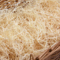 WOOD WOOL IDEAL FOR GIFTS, HAMPERS , PACKAGING, EASTER CRAFTS