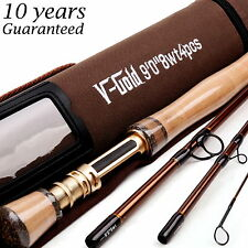 Fly Rod 8WT 9FT 4Piece Fast Action (Graphite IM12) Fly Fishing Rod&Cordura Tube
