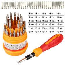 Mini 31-in-1 Screwdrivers Set Manual Combination Phone Precision Repair Kit Tool