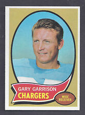 1970 Topps #23 Gary Garrison San Diego Chargers NM to NM Plus