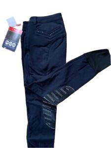 Animo Naprile Navy breeches i46 uk14 BNWT