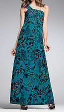 Polyester One Shoulder Plus Size Maxi Dresses for Women