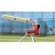 Heater Combo Pitching Machine and Xtender 24' Batting Cage  / Model HTRCMB899