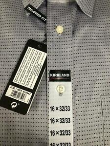 NEW!!! Kirkland Signature Men's Button Down Dress Shirt Size & Color VARIETY!!!