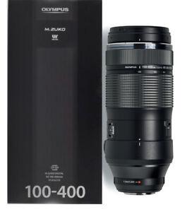 Olympus M.Zuiko Digital ED 100-400mm f/5-6.3 IS Lens - 2 Years Warranty