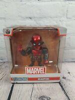 """Jada Metalfigs Marvel Deadpool Metal Figure 4"""" Diecast new"""