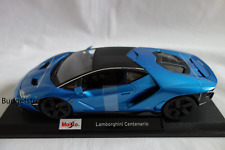 MAISTO 1:18 Scale Diescast Model Car - Lamborghini Centenario - Blue