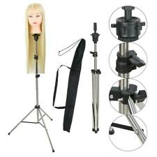 Adjustable Mannequin Hairdressing Training Head Stand Wig Holder Tripod With Bag