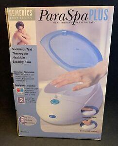 Homedics Para Spa Plus Paraffin Wax Bath Heat Therapy Home Spa Treatment