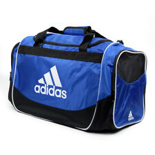 NEW-Adidas Defender Duffel Fitness Gym Sports Bag Cobalt Blue-Size Med-FREE SHIP