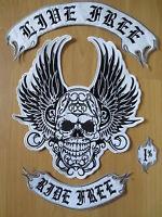 Ride Bell\u00ae Tattoo Skull Stainless Steel