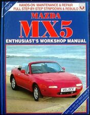 MAZDA MX5 ENTHUSIAST'S WORKSHOP MANUAL GRAINGER SHOEMARK CAR BOOK