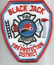 "Black Jack  Fire - Rescue, MO  (4"" x 4.75"" size) fire patch"