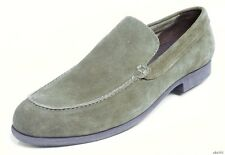 COLE HAAN men's dark green shoes suede 'Folsom' slip-on loafers 11 new classy