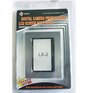 GGS Glass LCD Screen Protector for Panasonic Lumix LX-2