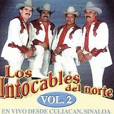 Los Intocables del Norte: En Vivio Desde Culiacan Sinaloa 2  Audio CD