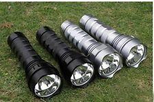 24W 2000Lumen HID Xenon 2200mAh Torch Flashlight Camping & Hiking Home maintain