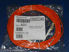New  Jumper 50/125 LC/LC Fiber Optic Cable 10M