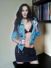 "Megan Fox Display Stand Up Standee 20"" Figure Sexy Woman"