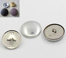 150 Sets Boutons à recouvrir Aluminum 28x28mm 25x25mm