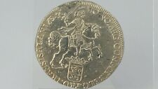 Dutch silver large coin Rijder 1742 ducaton possibly a wreck coin