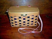 Longaberger Collectors Club Charter Member Purse Basket Set