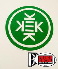 KEK Circular Vinyl Decal For Truck, Car, Laptop