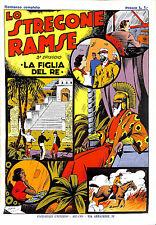 """[447] ALBI INTREPIDO ed. Piacentini 1938 Ristampa """"Lo stregone Ramse"""" stato Otti"""