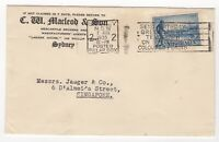 1935 Aug 7th. Air Mail. Sydney to Singapore.