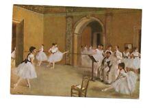 Edgar Degas - Ecole de Danse - Art Postcard