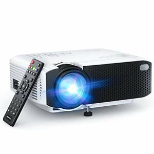 "APEMAN LC350 Mini Projector 2021 Upgraded 4500L Brightness 1080P and 180"" Dis..."